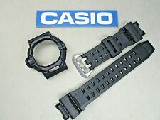 Genuine Casio G-Shock Riseman G-9200GY G-9200 GW-9200 watch band bezel dark grey
