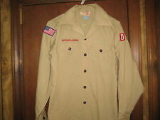 Boy Scout Long Sleeve Shirt, Size 16 (14-16) cu16
