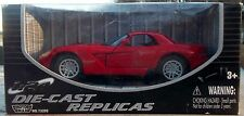 2003 Dodge Viper SRT 10 Coupe Red 1/24 Scale Diecast Metal