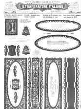 Disegno Drawings Fretwork Pietro Barelli Tav. 107+2 1928 Armadio specchio - DVD