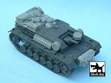 Black Dog 1/48 StuG III Ausf.B Tank Accessories Set WWII (Tamiya 32507) T48030