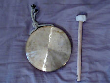 "Gong, smaller gongs. 6"" 1/2 inches (16cm) in diametre"
