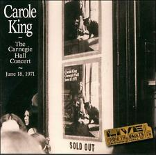 CAROLE KING - The Carnegie Hall Concert (1971) CD [K122]