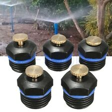5Pc Yard Garden Gas Sprinkler Head Water Lawn Irrigation Spray System Cooling BE