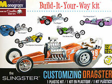 Revell Monogram 1:25 The Slingster Dragster Car Model Kit