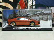 James Bond Car Collection 8 Lotus Esprit Turbo - For Your Eyes Only & Magazine