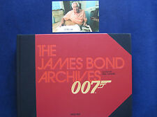 IAN FLEMING - THE JAMES BOND ARCHIVES - SIGNED BY JAMES BOND - SPECTRE EDITION