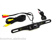 1/4 Inch Color CMOS Car Rear View Reverse Backup Parking Camera LED Night Vision