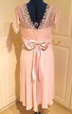 Beautiful Nicholas Millington shell pink bridesmaid/prom/occasion dress size 14
