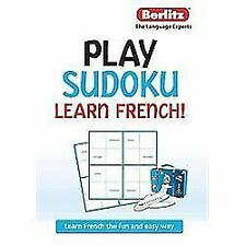 Play Sudoku, Learn French (English and French Edition)