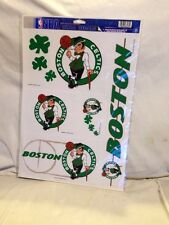 """Boston Celtics NBA Official 11"""" x 17""""  Ultra Decal 5-pc Set *New Collectable"""