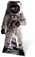 Buzz Aldrin Alunizaje Astronautas De Cartón De Corte
