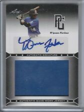 Ti'QUAN FORBES AUTOGRAPH JUMBO JERSEY 2013 LEAF PERFECT GAME