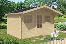 28 mm Gartenhaus London 380x300 cm Gerätehaus Holz Holzhaus Schuppen Blockhaus
