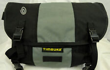 "TIMBUK2 Messenger Shoulder Bag Green & Black  13"" wide, 8"" deep, 12"" tall"