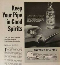 Pipe Repair Cleaning 1964 How-To INFO Briar
