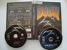 DOOM COLLECTOR' S EDITION PC CD (2 Dischi)