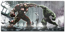 Iron Man and Hulk Comic Movie Art Silk Poster 24x36inch