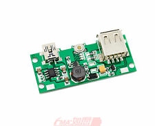Power Bank Boost plate and PCM for 3.6V 3.7V LiIon LiPo Battery to 5V 1.5A V1