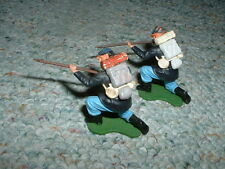 Britains 54mm 1/32 Old Swoppet Swoppit Union kneeling  firing x2