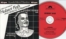 Hubert Kah CD-SINGLE ROSEMARIE 6:00 min  VERSION