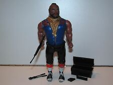"A-TEAM 6"" ACTION FIGURE 'BA BARRACUS' NEAR COMPLETE - GALOOB 1980s"