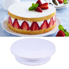 11 Rotating Revolving Cake Plate Decorating Turntable Kitchen Display Stand Tool