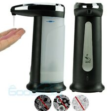 400ML Hands Free Automatic Touchless IR Sensor Soap Liquid Sanitizer Dispenser