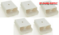 Lot 5 x White Battery Pack Holder Cover Shell for XBOX 360 Wireless Controller