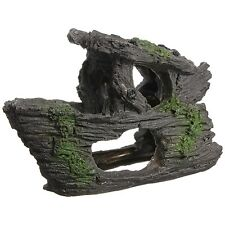 Aquarium Decoration Rock Grotto Cave Fish Tank Terrarium Decoration Shape E7R1