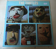 """COPERTINA LP- THE TURTLES """"WOODEN HEAD"""" WHITE WHALE 7133"""