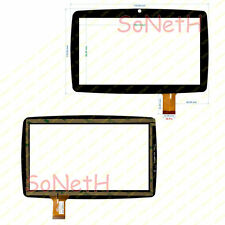 Vetro Touch screen Digitizer 7 Lisciani Mio Tab Family Evolution MP0100888 Nero