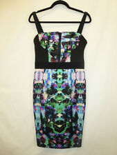 MILLY  MULTI COLOURED DRESS SIZE 10