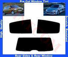 Pellicola Oscurante Vetri Auto Pre-Tagliata Renault Clio 3P 98-05 da 5% a 50%