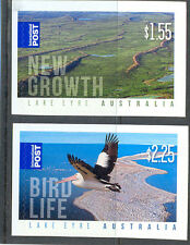 Australia-Lake Eyre set of 2 self-adhesive mnh (3583/4) 2011-Birds Wild life