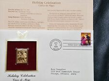 22K Gold 1998 Cinco de Mayo Gold Proof Stamp Replica First Day Cover w/Addr