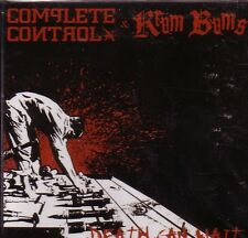COMPLETE CONTROL / KRUM BUMS – DEATH CAN WAIT CD oi!