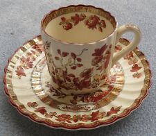 Spode Indian Tree Demitasse Cup and Saucer Set England Mint!