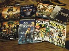 Video Game Strategy Guide Lot 6 Guides Plus 2 EGM. Final Fantasy X, Fable 3, etc