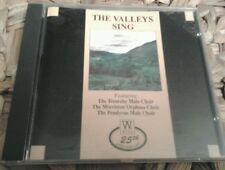 Cd the valleys sing welsh male voice choirs music