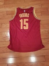 Cleveland cavaliers kyrie Irving#15  LARGE RED gorgeous JESERY