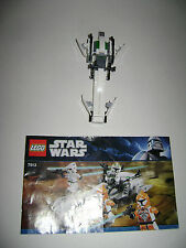 Lego 7913 Star Wars Clone Trooper Battle Pack 99% COMPLETE W/INSTUCTIONS RARE
