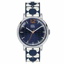 Orla Kiely Ladies Pop Watch Multicolour Expandable Strap OK4057 Navy