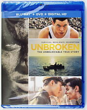 Blu-Ray Unbroken The Unbelievable True Story ( Blu-Ray+ DVD+ Digital HD )