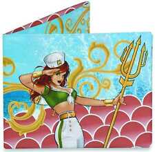 TYVEK MIGHTY WALLET DC BOMBSHELLS MERA QUEEN OF ATLANTIS NEW IN PACK #smay16-58