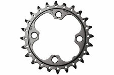 Shimano SLX FC-M660 24T Chainring 3x10 speed Type AE (24-32-42) 64mm BCD