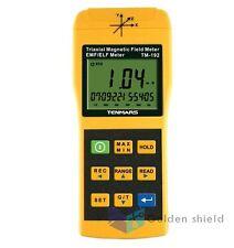 3 Axis Triaxis Gaussmeter EMF ELF Magnetic Field Meter TM-192 Tenmars 01 Yr Wty