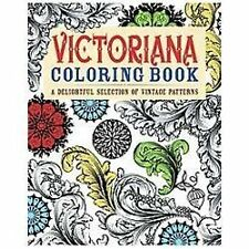 Chartwell Coloring Bks.: Victoriana Coloring Book : A Delightful Selection of Vi