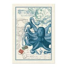 New Michel Design Works Cotton Octopus Kitchen Tea Towel