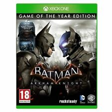 JEU XBOX ONE BATMAN ARKHAM KNIGHT EDITION GAME OF THE YEAR NEUF SOUS BLISTER